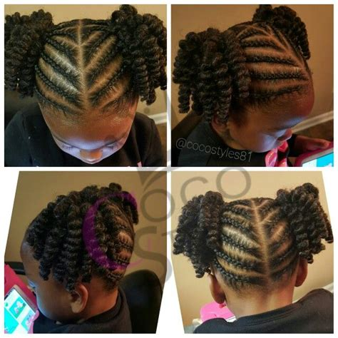 Cute Hair Braid For Your Daughter Going To Kindergarten