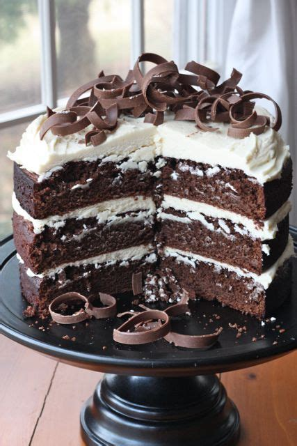 Guinness Chocolate Cake With Cream Frosting Recipe