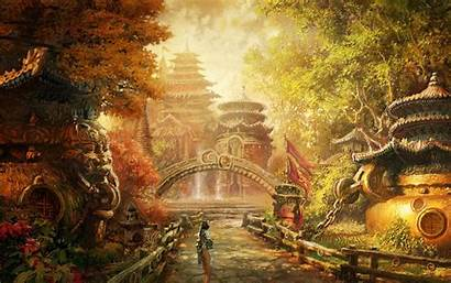Fantasy Asian Wallpapers Chinese Ancient Background China