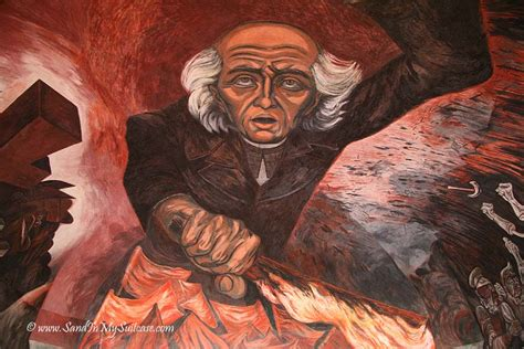 Jose Clemente Orozco Murals by Orozco S Fiery Murals In Guadalajara Sand In My