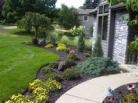 home landscape pictures plants that improve landscape and home security