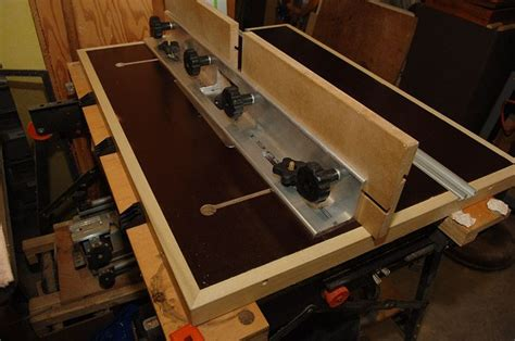 woodwork router table fence plans  plans router table