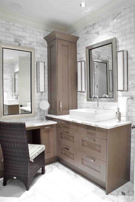 Built In Vanity Cabinets For Bathrooms by Design Galleria Custom Sink Vanity Built Into Corner Of