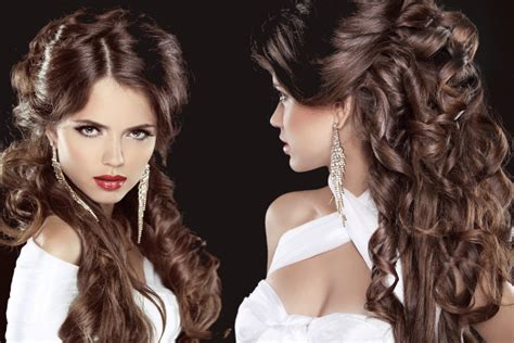 Easy Curly Hairstyles For Summer Party