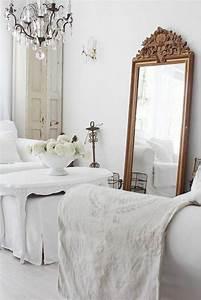 comment decorer avec le grand miroir ancien idees en With miroir dans une chambre