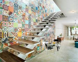 emejing mur escalier ideas awesome interior home With awesome couleur pour une cage d escalier 6 renovation escalier la meilleure idee deco escalier en un