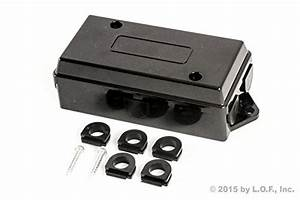 Free 2 Day Shipping  7 Way Trailer Wire Junction Box