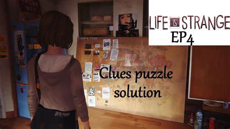 Clues Puzzle Solution