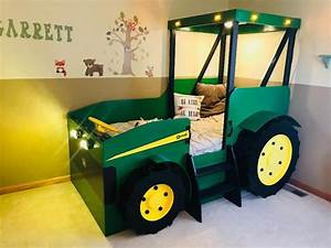 Tractor Bed Plans  Pdf Format   Create A Farm Themed