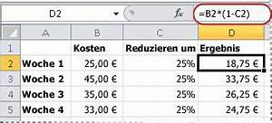 Excel Formel Alter Berechnen : anzeigen von zahlen als prozentwerte excel ~ Themetempest.com Abrechnung
