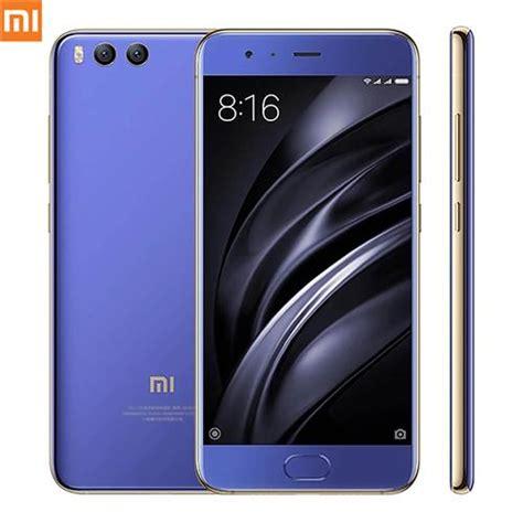 Xiaomi Mi 6 515 Inch 6gb 128gb Smartphone Blue