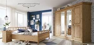 Landhausstil Schlafzimmer Nordic Dreams Massivholzmbel