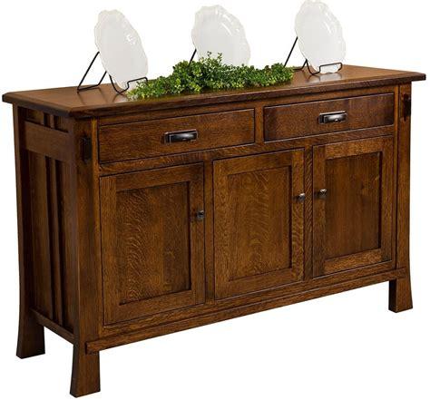 Craftsman Sideboard by Rowe Craftsman Buffet Sideboard Countryside Amish Furniture