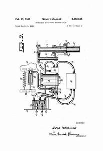 Patent Us3368845 - Hydraulic Adjustment Barber Chair