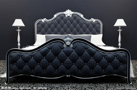 bed with mattress 欧式室内装修图片设计图 室内设计 环境设计 设计图库 昵图网nipic com
