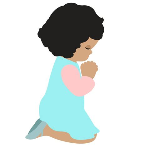 Girl Praying Silhouette at GetDrawings.com | Free for ...