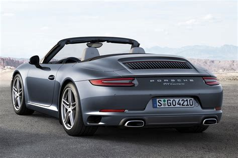 2017 Porsche 911 Luxury Sports Cars Convertible