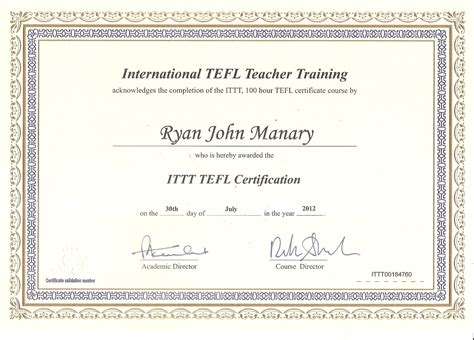 Tefl Certificate Template teaching esl in south korea today marks one year here