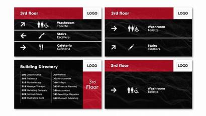 Wayfinding Templates Signage Template Digital Screenscape Meanwhile