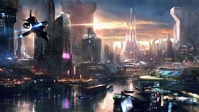 Futuristic Concept Remember Cityscape Fiction Science Games