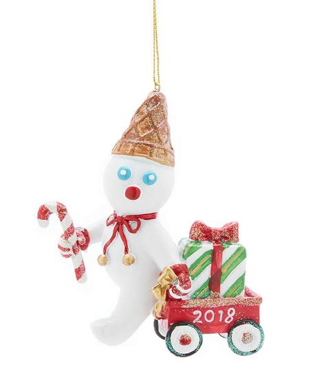 Trimsetter Mr Bingle Collection 2018 Dated Resin Ornament