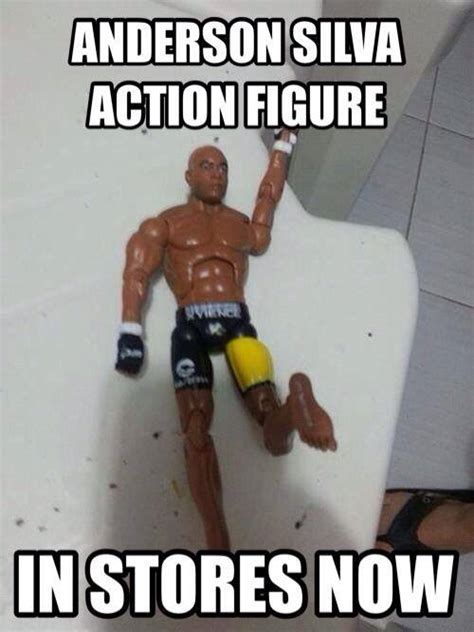 Meme Figures - is it too soon for the new anderson silva action figure nz