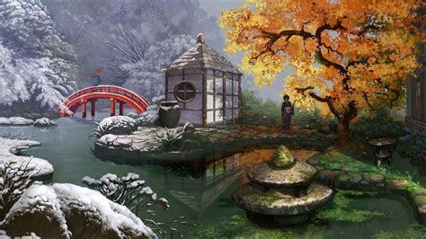 Japanese Garden Hd Wallpaper (57+ Images