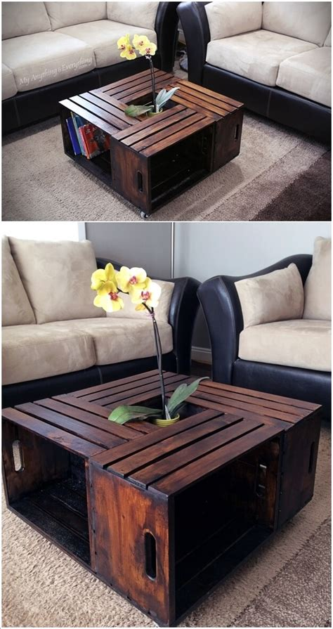 incredible wooden crate furniture ideas