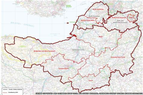 bbc in pictures somerset election in depth map