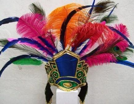 penacho azteca copil danza concheros virgen basilica