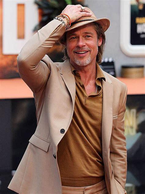 Четырежды номинант на премию «оскар». Brad Pitt Once Upon a Time in Hollywood Suit - Just American Jackets