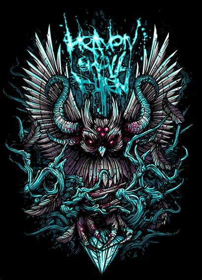 Burn Heaven Shall Dan Mumford Metal Owl