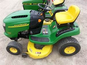 2004 John Deere L100 Lawn  U0026 Garden And Commercial Mowing