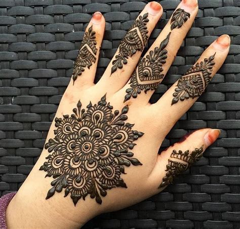 Foto Rahim Wanita Mehndi Designs 2018 Best Beautiful Indian Pakistani