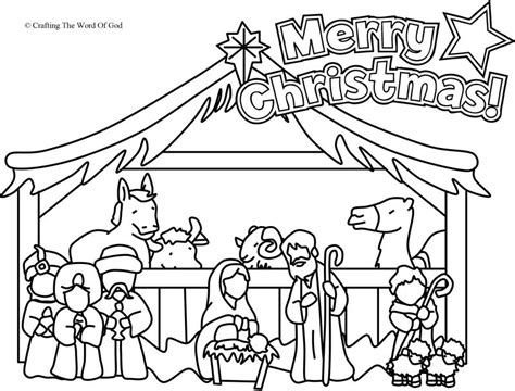 nativity coloring pages nativity coloring page coloring page 171 crafting the word