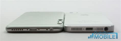 iphone 6 thickness iphone 5s vs iphone 6