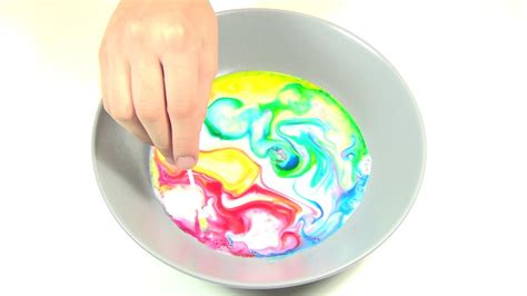 milk food coloring dish soap awesome science magic