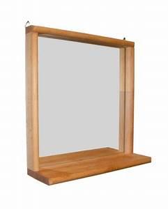 Spiegel Für Bad : dekorativer spiegel f r bad flur und toilette aus massivholz buche ge lt stabiler ~ Indierocktalk.com Haus und Dekorationen