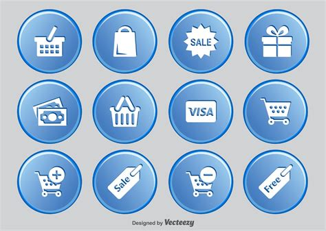 Latest Free E-commerce Icon Sets » Css Author