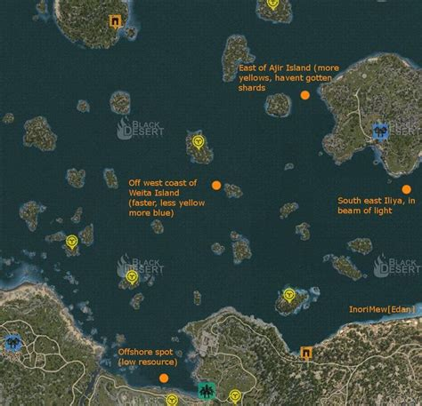 Bdo Fishing Boat Hotspots by 17 Best Images About Black Desert Online On Pinterest
