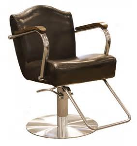 regal styling chair in vintage black