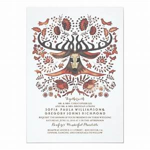 Deer Live Weight Chart Deer Wedding Invitation With Woodland Animals Zazzle Com
