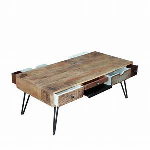 Table basse vintage en bois fusion by drawer for Lovely jardiniere d interieur design 13 table basse vintage en bois fusion by drawer