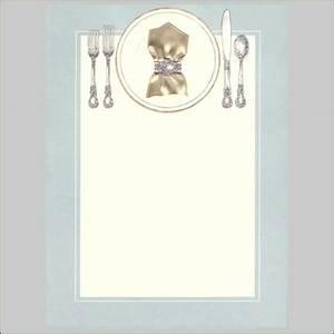 Best Photos of Blank Dinner Invitation Template - Blank ...