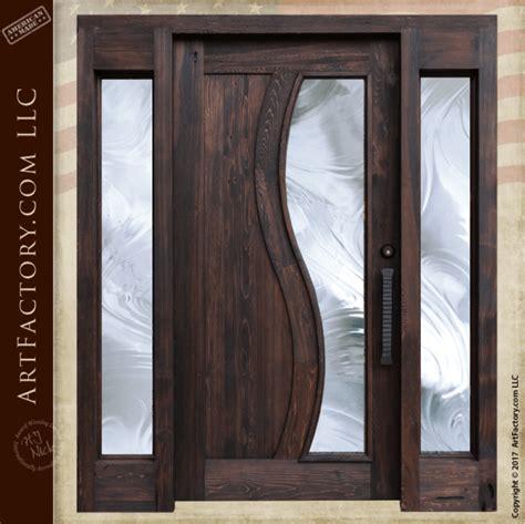 contemporary style entrance door modern design