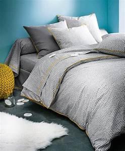 Housse De Couette Noir Et Blanc : parure de lit mon top 15 pour une chambre cocon minty ~ Teatrodelosmanantiales.com Idées de Décoration