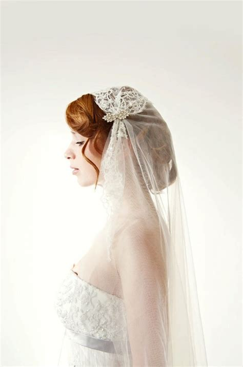 Timeless And Elegant Juliet Cap Veils Onewed