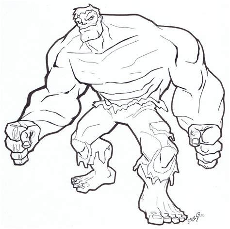 printable hulk coloring pages  kids