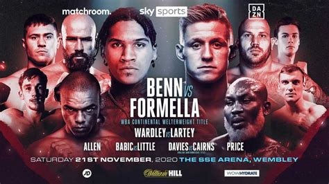 Conor Benn vs Sebastian Formella headlines Matchroom ...