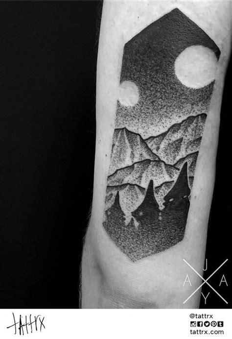 Jaya Suartika Tattoo | Adelaide Australia - Mountains for Kane